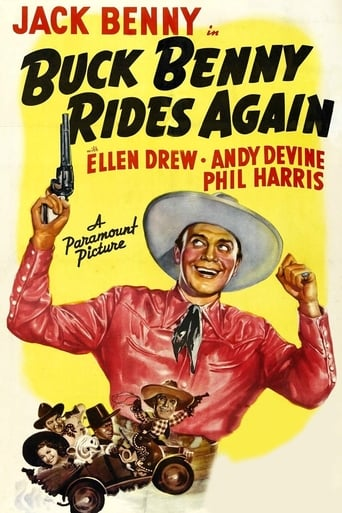 Poster of Buck Benny Rides Again