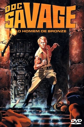 Poster of Doc Savage: The Man of Bronze