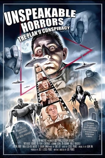 Poster of Unspeakable Horrors: The Plan 9 Conspiracy