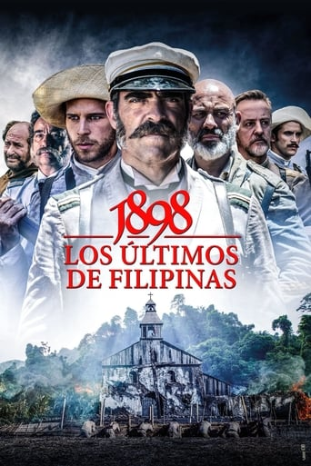 Filmplakat von 1898. Our last Men in the Philippines