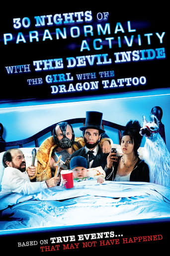 Poster of 30 Nights of Paranormal Activity With the Devil Inside the Girl With the Dragon Tattoo