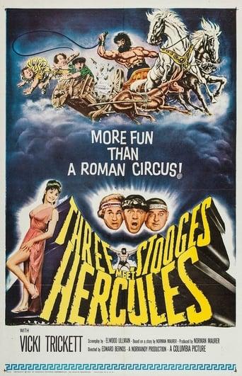 Poster of The Three Stooges Meet Hercules