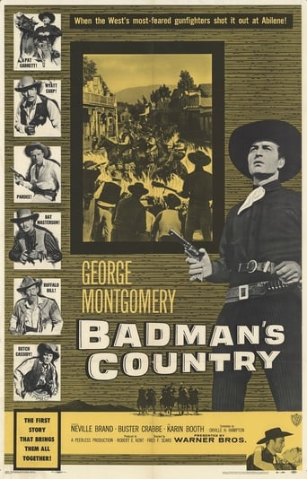 Poster of Badman's Country