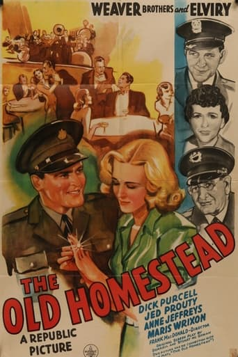 Poster of The Old Homestead