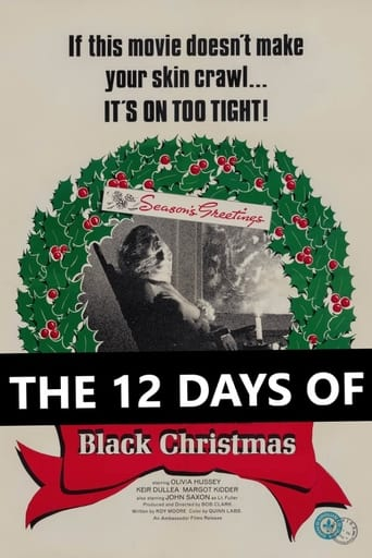 Poster of The 12 Days of Black Christmas