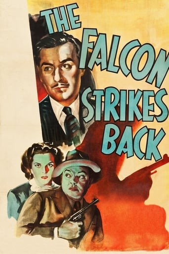 Poster of The Falcon Strikes Back