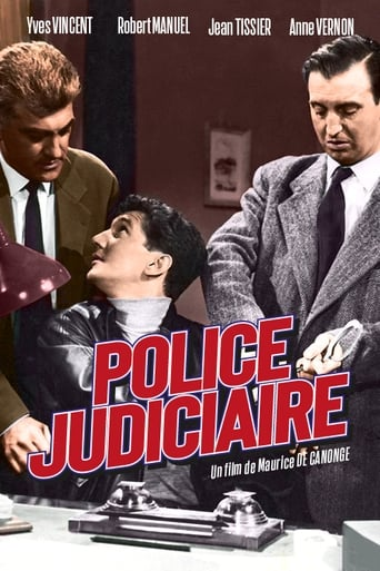 Poster of Police Judiciaire