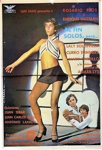 Poster of Al fin solos, pero...