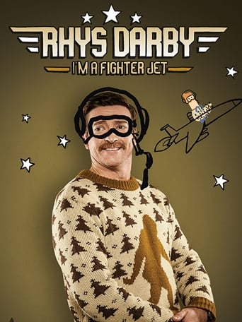 Rhys Darby I'm A Fighter Jet poster