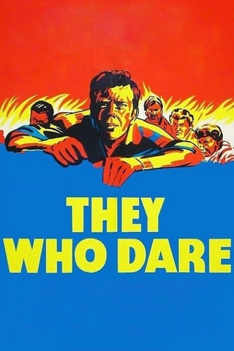 Poster of They Who Dare