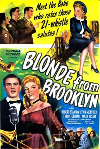 Poster of Blonde from Brooklyn