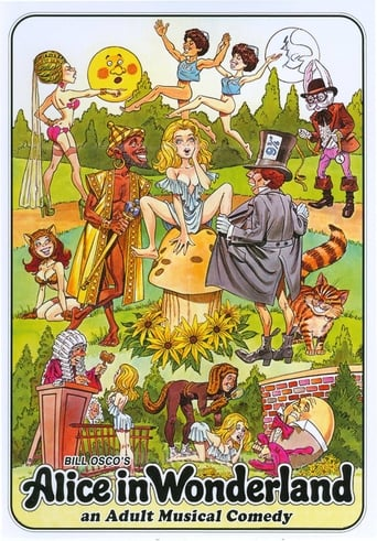 Poster of Alice in Wonderland: An X-Rated Musical Comedy