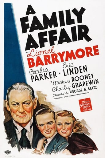 Poster of A Family Affair