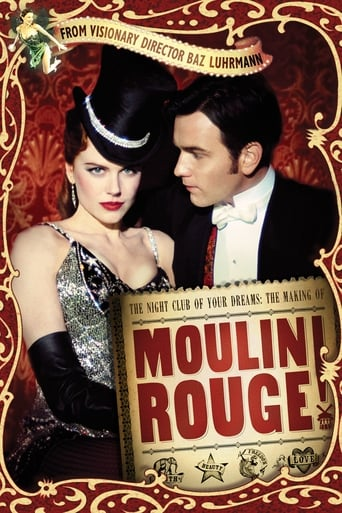 Poster of The Night Club of Your Dreams: The Making of 'Moulin Rouge'