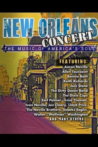 Poster of New Orleans Concert - The Music of Americas Soul