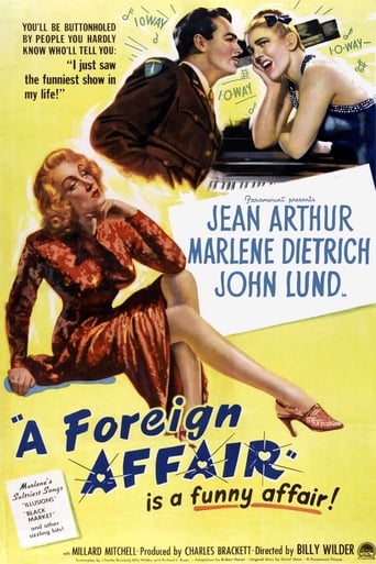 Poster of A Foreign Affair