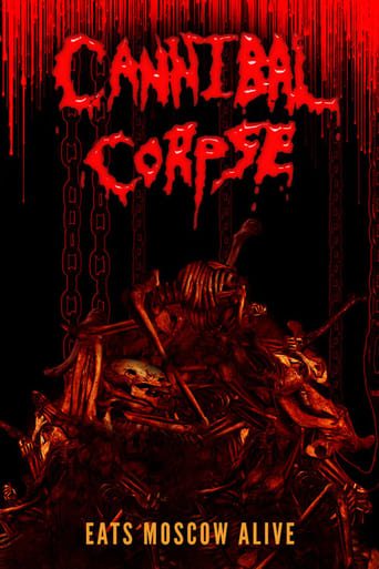 Poster of Cannibal Corpse Eats Moscow Alive