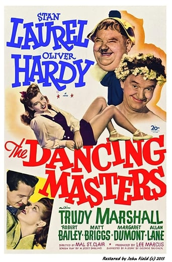 Poster of The Dancing Masters