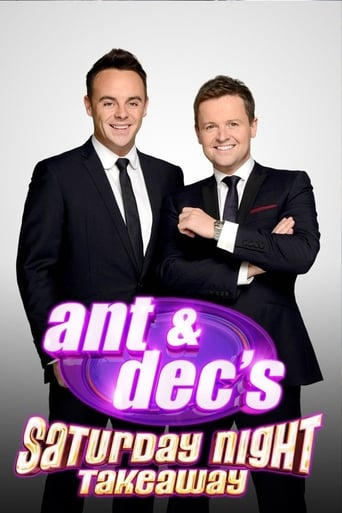 Ant & Dec's Saturday Night Takeaway Poster