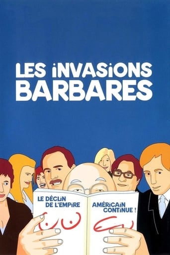 Poster of Les invasions barbares