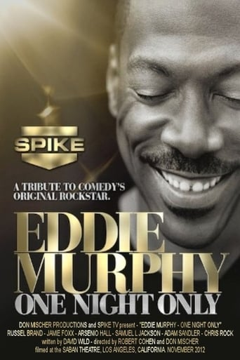 Poster of Eddie Murphy: One Night Only
