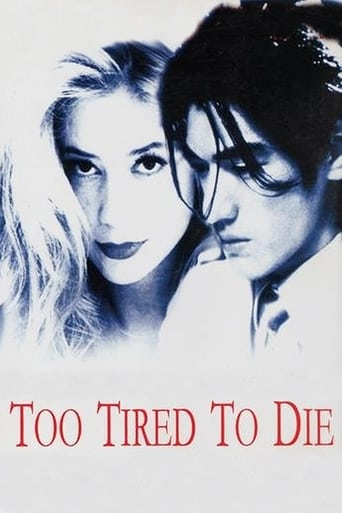 Poster of Too Tired to Die