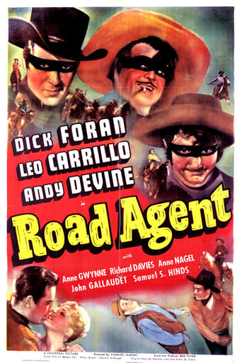 Poster of Road Agent