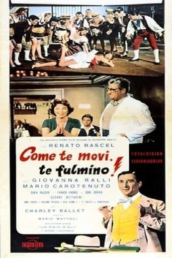 Poster of Come te movi, te fulmino!