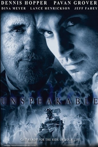 Unspeakable poster