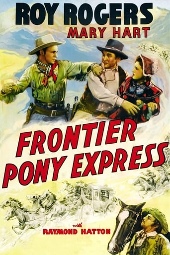 Poster of Frontier Pony Express