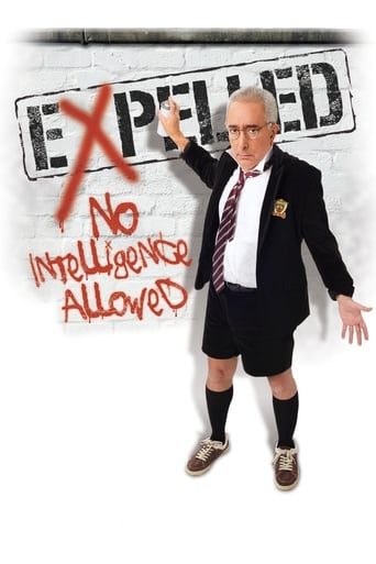 Poster of Expelled: No Intelligence Allowed