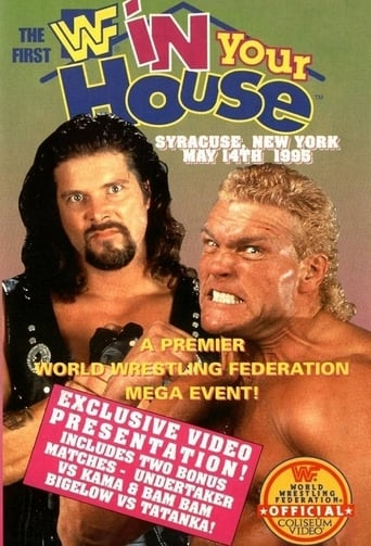 Poster of WWE In Your House