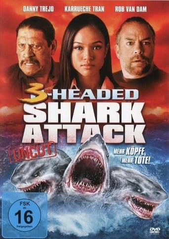 Filmplakat von 3-Headed Shark Attack