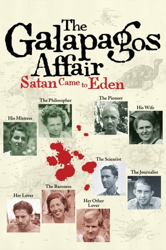 Poster of The Galapagos Affair: Satan Came to Eden