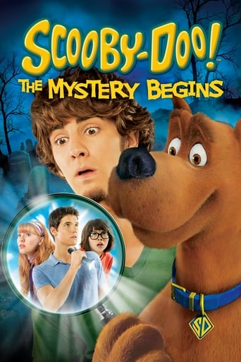 Poster of Scooby-Doo! The Mystery Begins