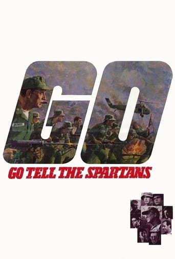 Poster of Go Tell the Spartans