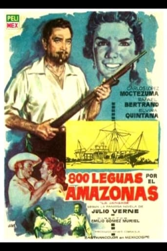 Poster of 800 leguas por el Amazonas