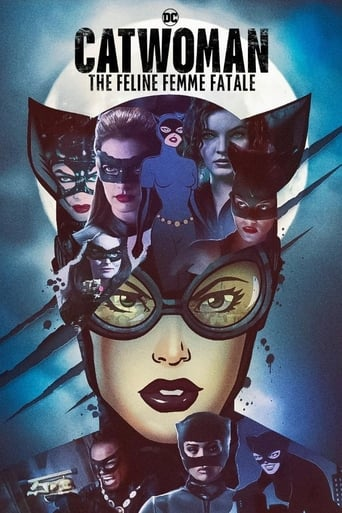 Poster of DC Villains - Catwoman: The Feline Femme Fatale