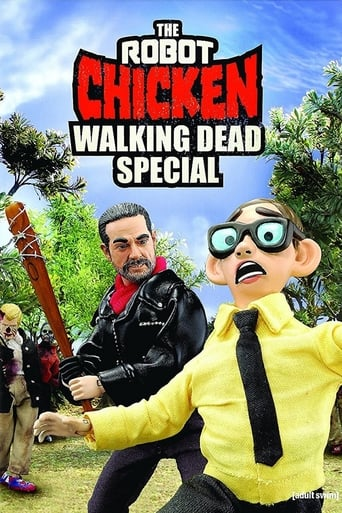 The Robot Chicken Walking Dead Special: Look Who's Walking poster