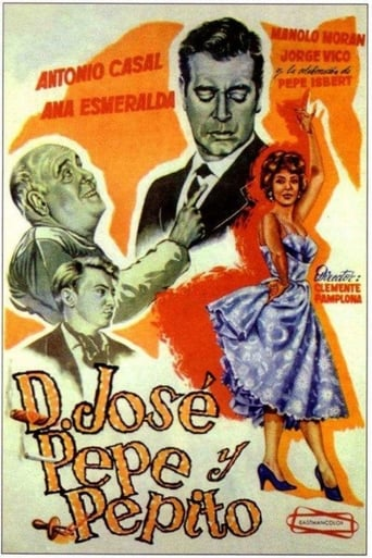Poster of Don José, Pepe y Pepito
