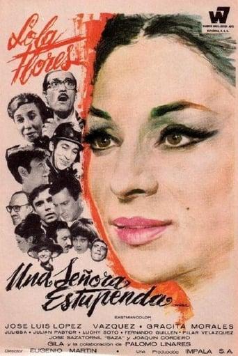 Poster of Una señora estupenda