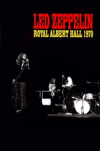 Poster of Led Zeppelin - Live at the Royal Albert Hall 1970