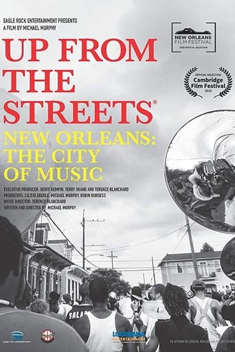 Poster of Up From the Streets - New Orleans: The City of Music