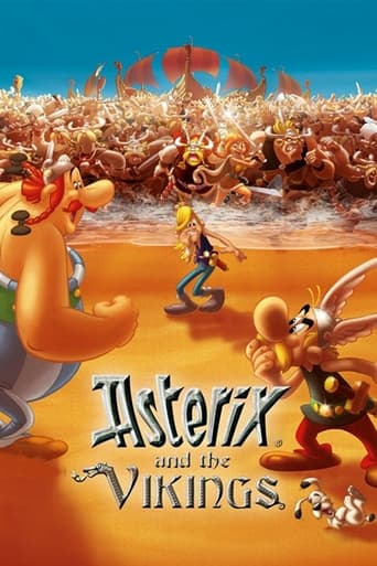 Poster of Asterix and the Vikings