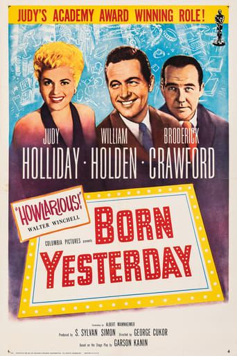 Poster of Born Yesterday