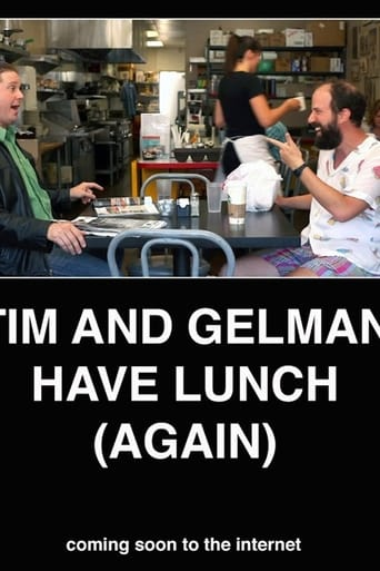 Poster of Tim and Gelman Have Lunch (Again)