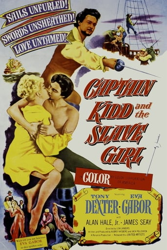 Poster of Captain Kidd and the Slave Girl