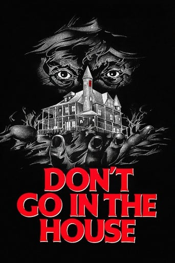 Poster of Don't Go in the House