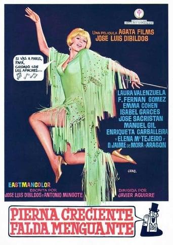 Poster of Pierna creciente, falda menguante