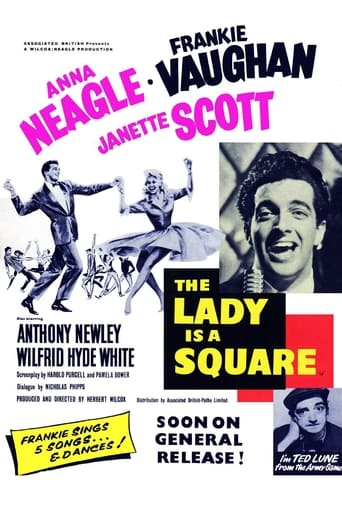 Poster of The Lady is a Square